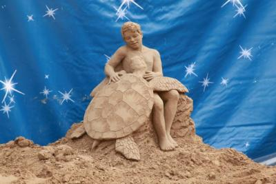 Nativity-scene of Sand, Jesolo Sealife