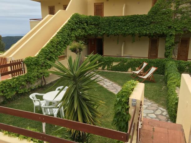 Appartamenti ideali per Famiglie con Giardino Palinuro
