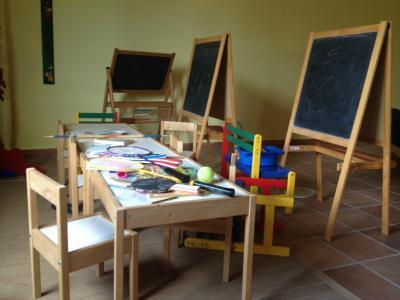 Spazio ricreativo per bambini