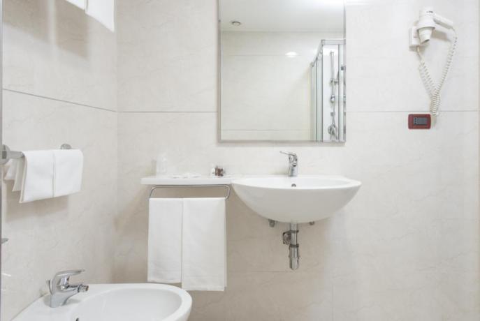 Hotel 4stelle Cosenza, camere con servizi privati