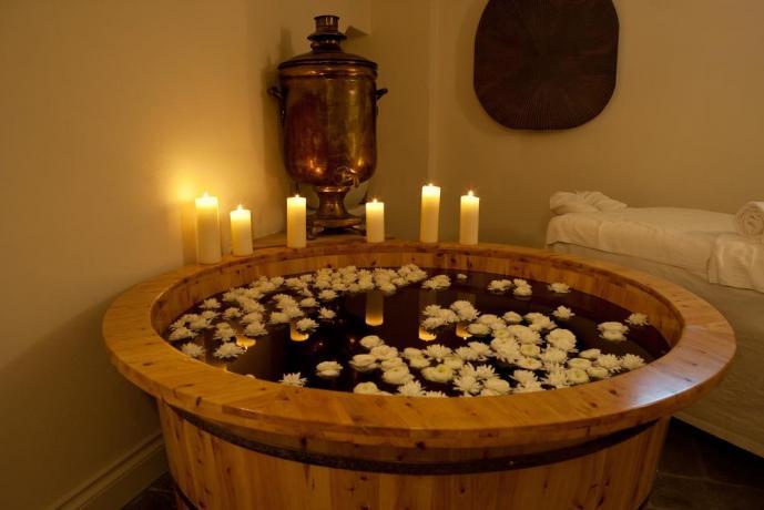 Centro Benessere con vino-terapia