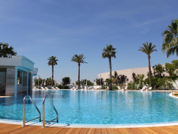 Vacanze a Manfredonia in hotel 4stelle con piscina