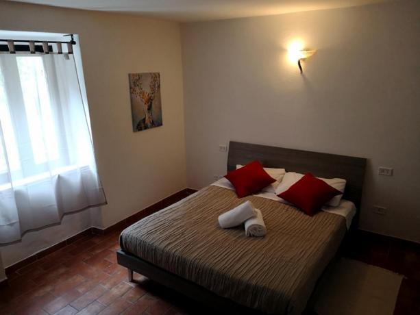 Camera letto matrimoniale: Assisi Vacanze