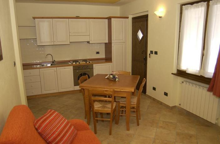 Appartamento Narciso con cucina e angolo cottura