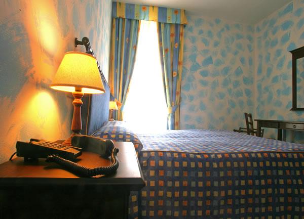 Dettaglio stanza matrimoniale