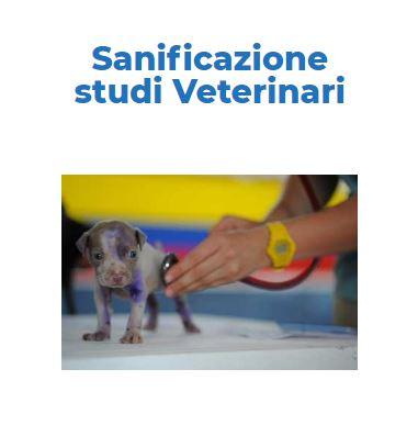 Disinfezione Certificata COVID-19: AMBULATORIO-VETERINARIO Roma