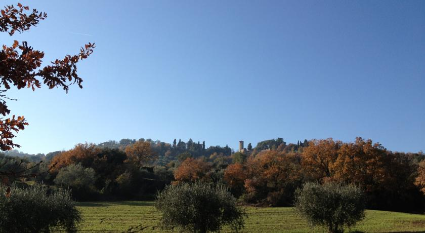 Agritourism with great view near Perugia