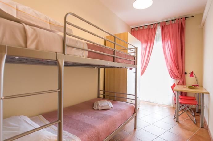 A Ronciglione residence con camera letti castello