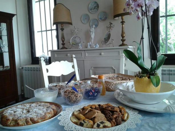 B&B nel Chianti; prima colazione