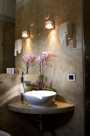Bagno privato in Hotel ad Assisi