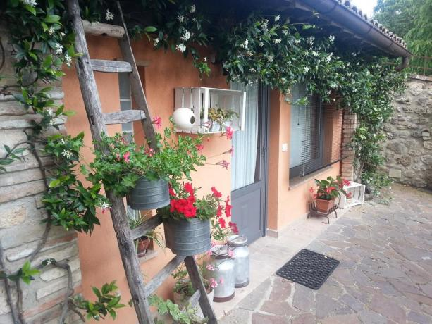 Bed and Breakfast con giardino a Massa Martana