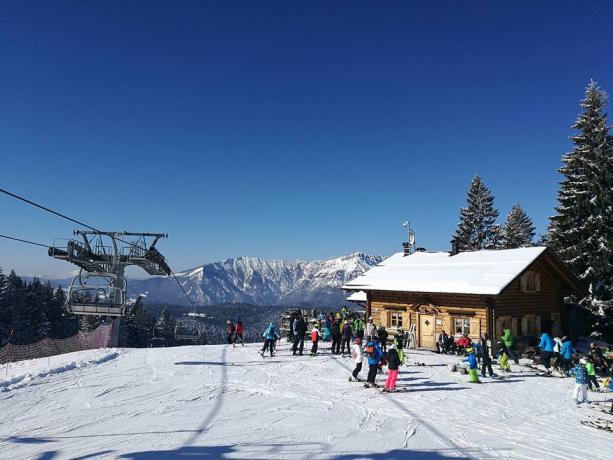 Hotel 3 stelle a Lavarone scuola scii