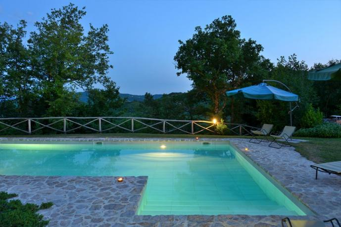 Agriturismo a Perugia con piscina