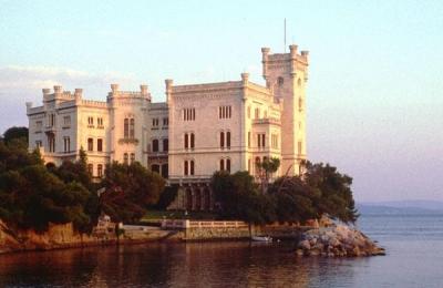 The Castel of Miramare in Trieste