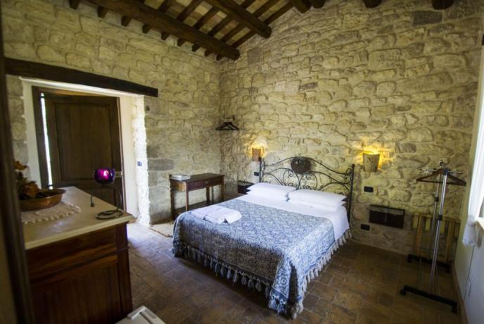 Camera Matrimoniale Unicorno Agriturismo Abbateggio Parco della Majella