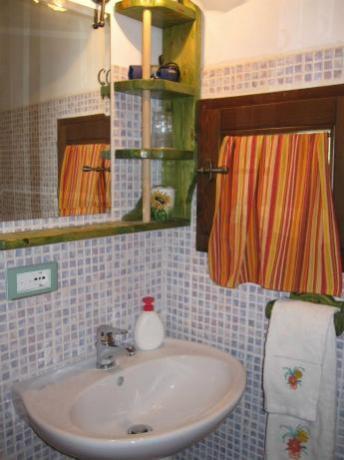 Bagno Appartamento Topazio B&B a Montone