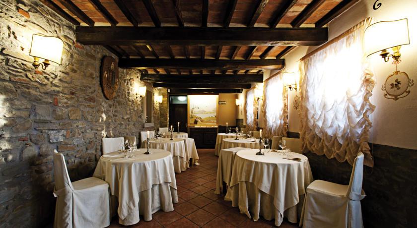 Romantico ristorante interno