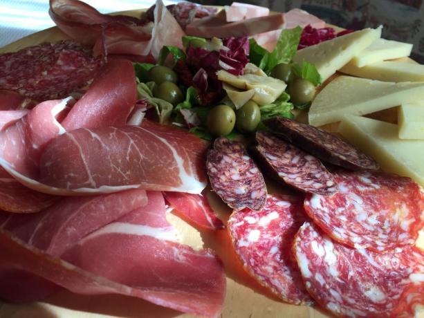 Cucina Abruzzese con prodotti locali