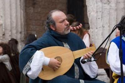 Medieval story teller