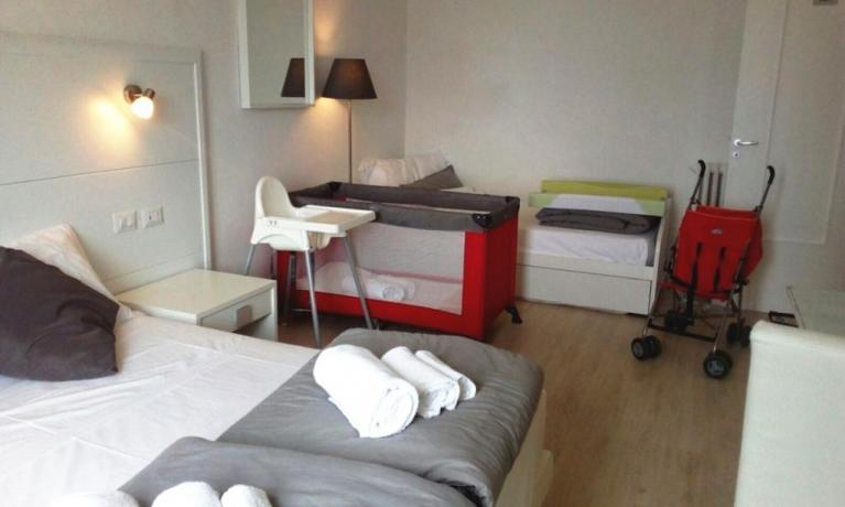 Camera attrezzata per bambini - Casa Vacanza Sorrento