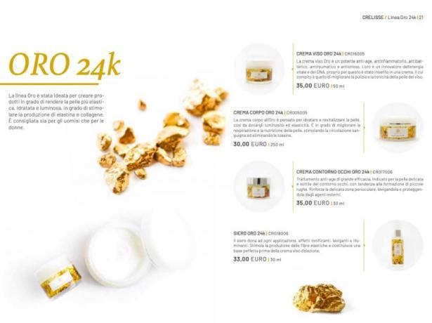 Imperya Catalogo:  Crema Oro 24 K