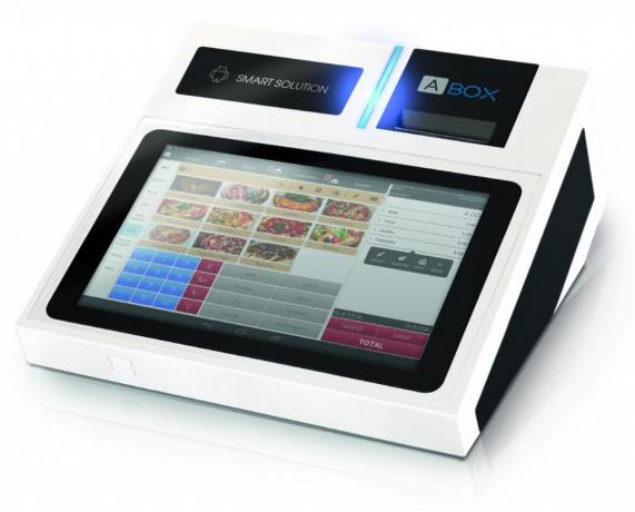 MCT: A|Box, Registratore-Cassa Touch economico ristoranti, bar.