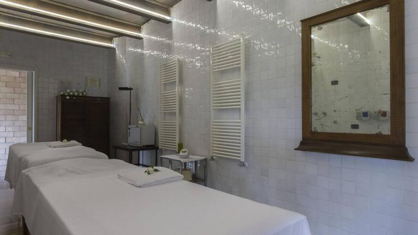 SALA MASSAGGI HOTEL 4 STELLE STAZIONEDIPOSTA
