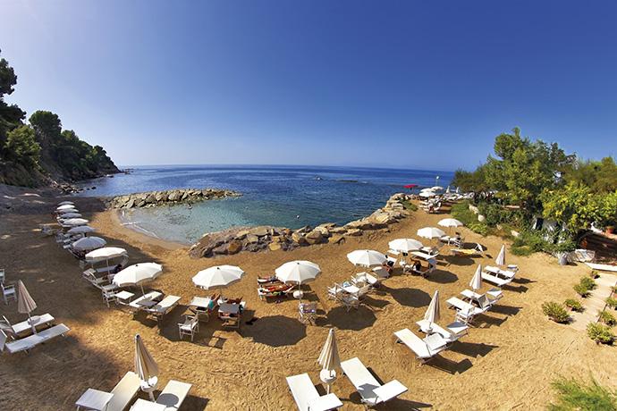 Resort con Spiaggia Privata nel Cilento