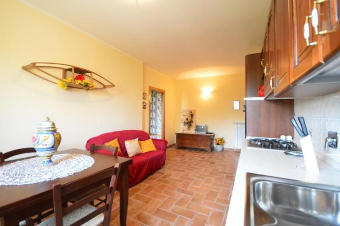 Appartamenti Spoleto con salone e piano cottura