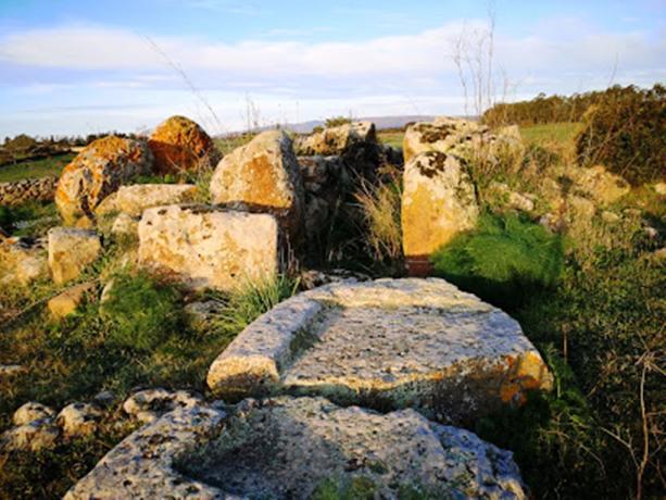 Campeggio nell'entroterra Sardo a Oristano