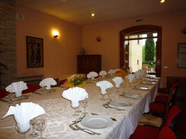 Menù speciali Gruppi turistici hotel3stelle ottimo ristorante Assisi