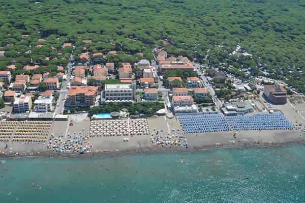 Spiaggia Marina di Castagneto Carducci, vicino Residence