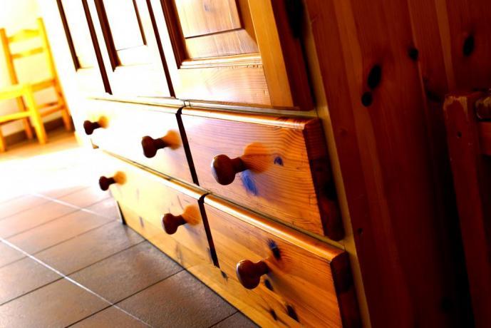 Mobili in legno stile Alpino