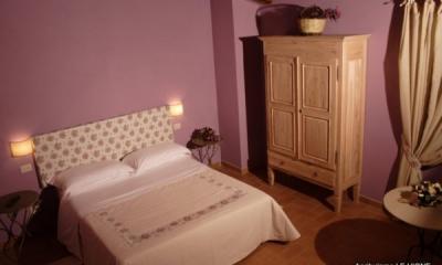 Camera lavanda in agriturismo vicino Foligno