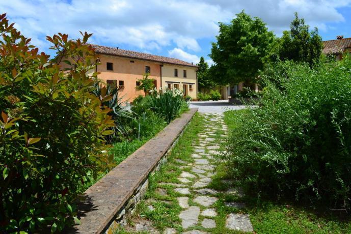 Agriturismo ideale per famiglie vicino Perugia