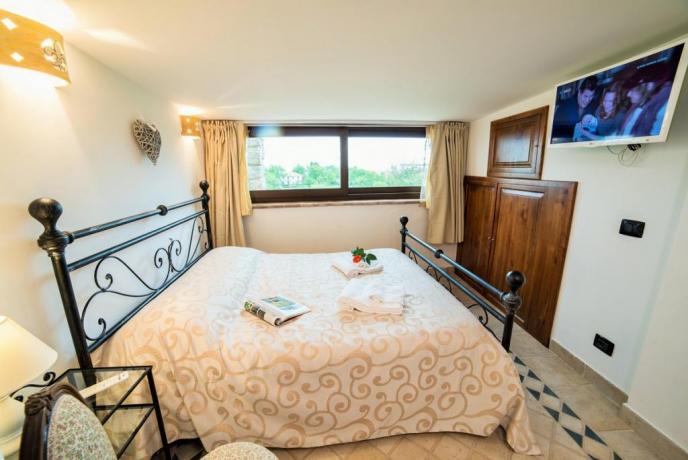 Appartamento Bianco camera matrimoniale panormica