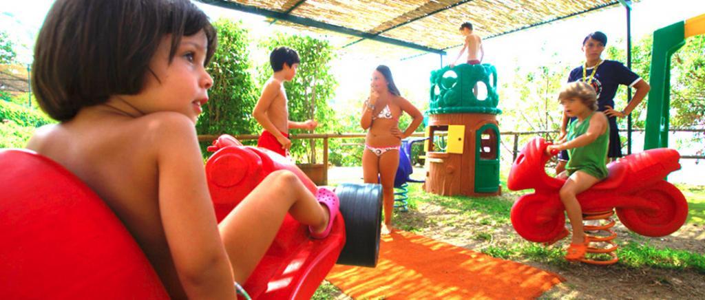 Miniclub in Villaggio sulla Spiaggia a Palinuro