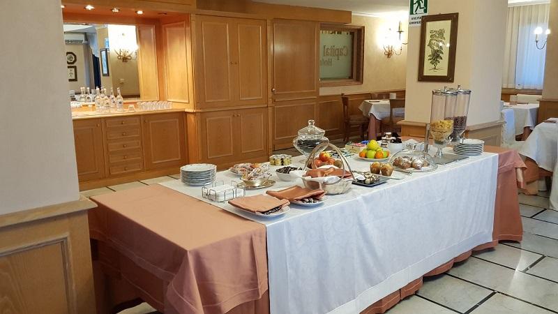 Hotel 4 stelle vicino Salerno, colazione a buffet