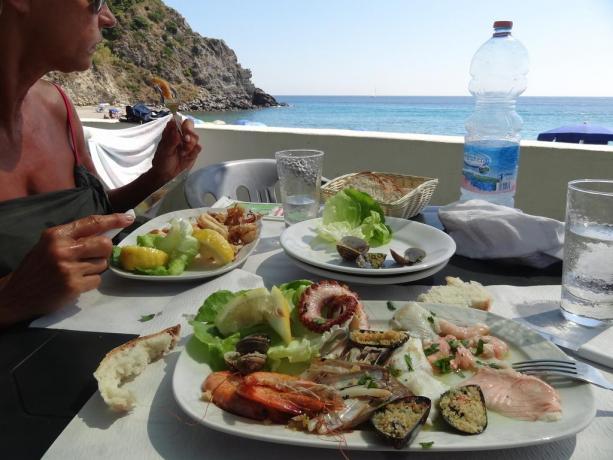 Pranzo con vista mare a Barano d'Ischia