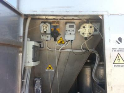 Particolare impianto di depurazione usato