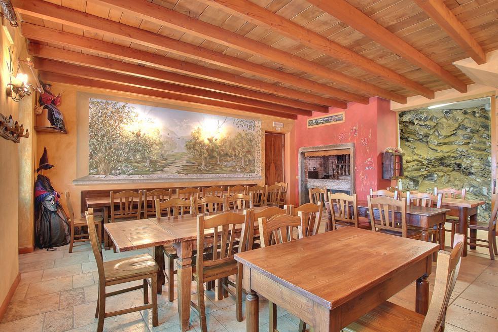 Sala ristorante Agriturismo sul Lago di Como