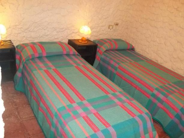 Camera doppia ideale per famiglie Villaggio Lampedusa