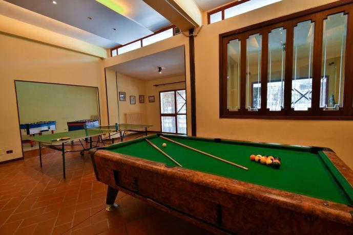 Sala Biliardo in Hotel a Roccaraso