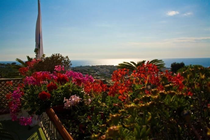 Camera con vista panoramica Hotel ad Ischia
