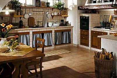Cucina muratura migliori offerte di cucine componibili di - Cucine in muratura rustica ...