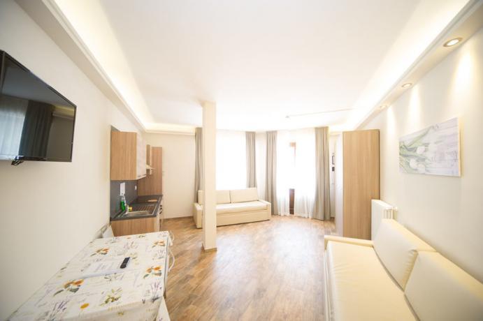 Appartamento-vacanza monolocale 3posti con divani letto Bardonecchia