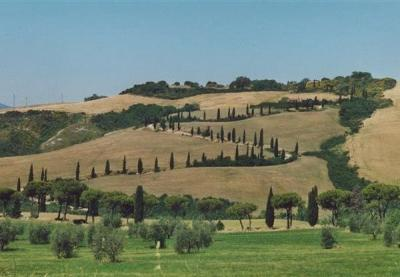Panorama dell'Hotel in Toscana