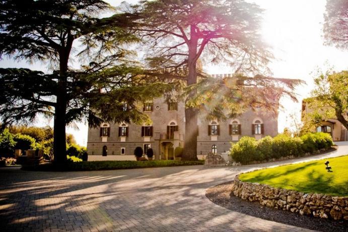 Hotel 5 stelle con SPA, Vasca Idromassaggio e Piscina - Luxury Charme