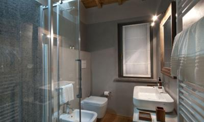 Secondo bagno camera penthouse