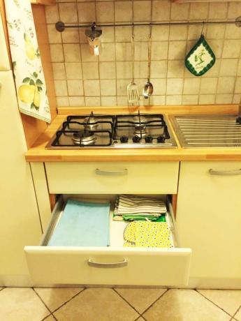 Angolo cottura attrezzato - suite con uso cucina